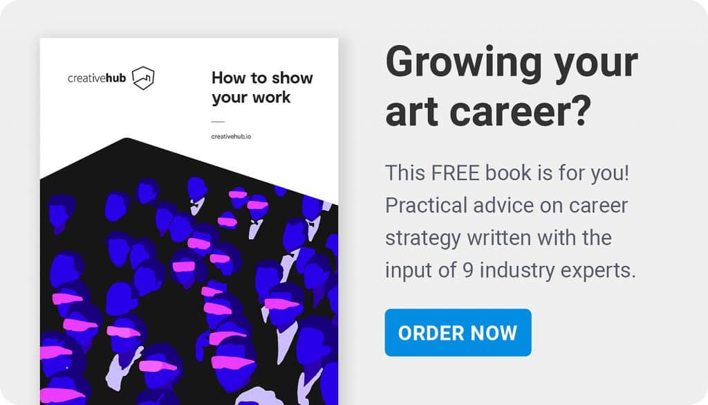 how to show your work - free book on the art industry